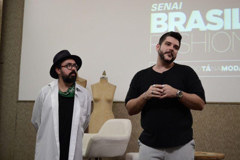 Jackson Araujo e Ed Benini comentaram sobre os critérios escolhidos pelas duplas para o casting, que foi anunciado para cada projeto (Foto: Anna Castro)