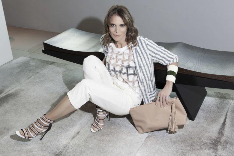 Recentemente, Carla relembrou os tempos de modelo posando com exclusividade para o site HT, na Dell Anno do Casashopping (Foto: Daniel Benassi)