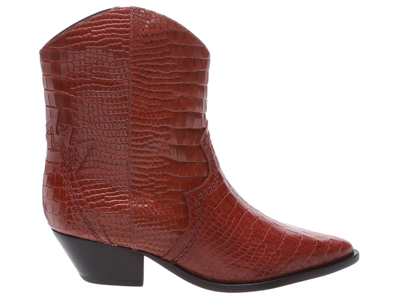 Coleção Pre Fall 2019: Bota De Lux Croco Red Brown já está nas lojas (Foto: Divulgação)