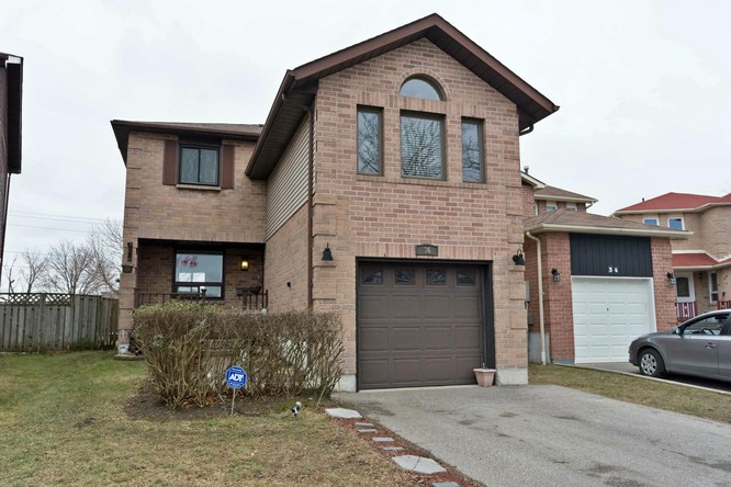 3BR Home for Sale on 36 Miles Drive, Ajax