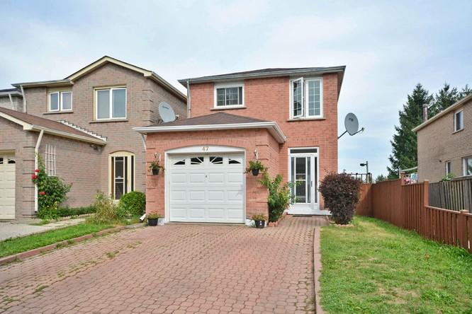 3BR Home for Sale on 47 William Honey Crescent, Markham