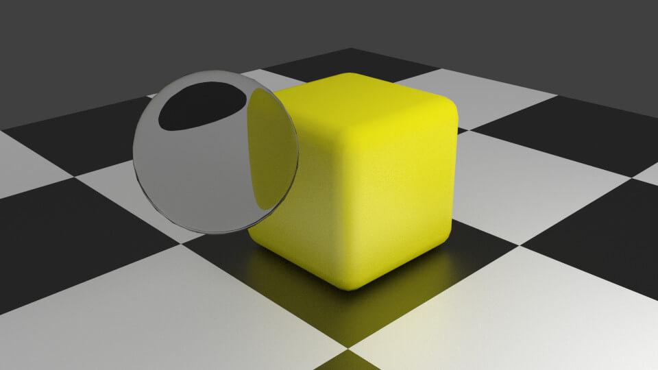 A Blender experiment