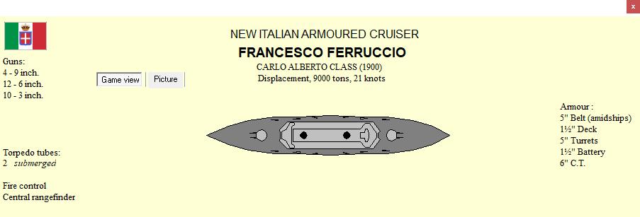 001: cruiser Francesco Ferruccio