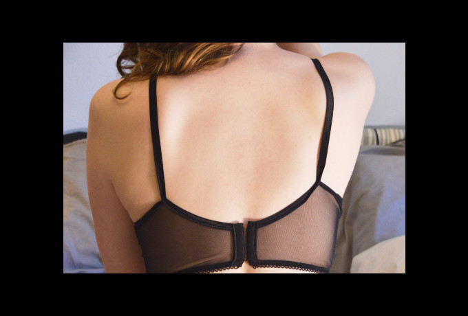 Devil May Care Set -Bra Knickers -made to measure underwear photo 1