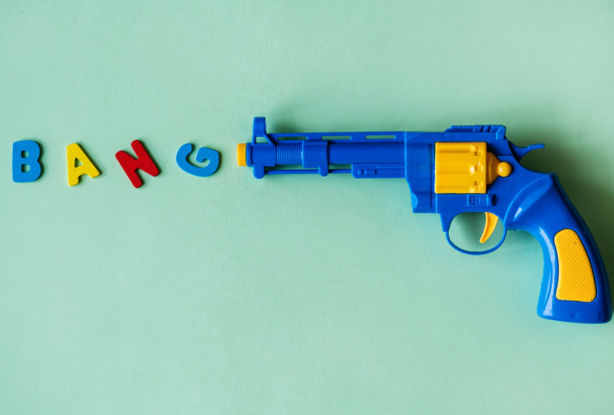 FREE: Toy Gun with 15 Soft Bullets photo 0