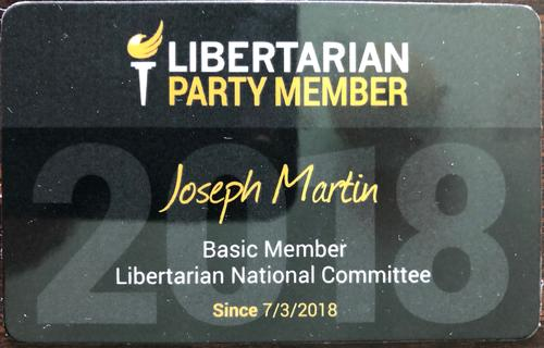 Libertarian Party Membership