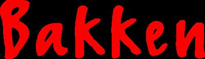 Logo of Bakken