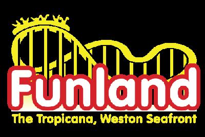 Logo of Funland at the Tropicana