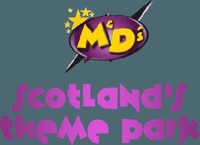 Logo of M&D's Scotland's Theme Park