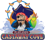 Logo of Playland's Castaway Cove