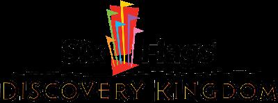 Logo of Six Flags Discovery Kingdom