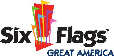 Logo of Six Flags Great America