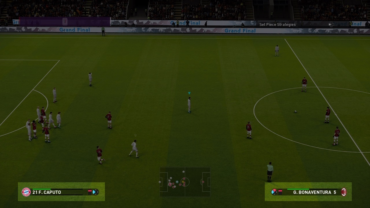 Attack and Defence levels in PES