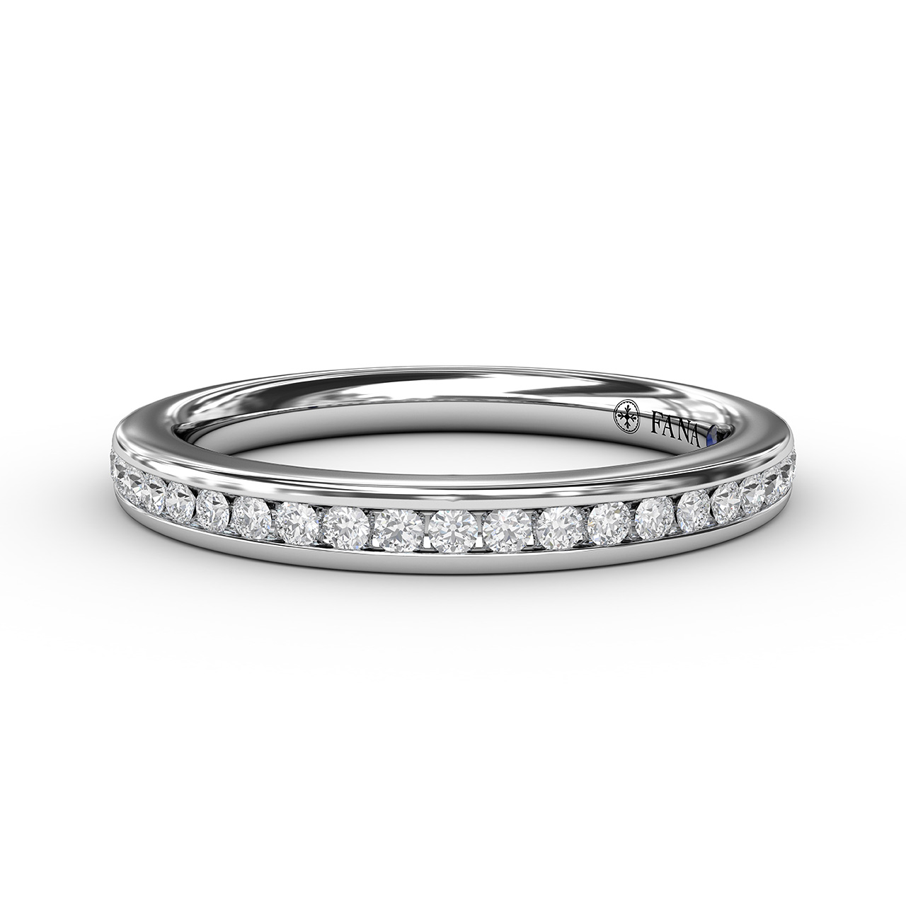 1/4ct Bead and Channel Set Anniversary Band