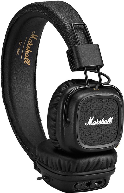 Навушники Marshall Major II Bluetooth Black (4091378) - Технопростір ... 5e5b3c7619aeb