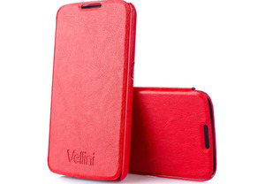 Vellini Book Style Samsung Galaxy S6 (Red) (216929)