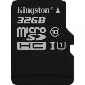 microSDHC 32GB Kingston Canvas Select Class 10 UHS-I U1 (SDCS/32GBSP)