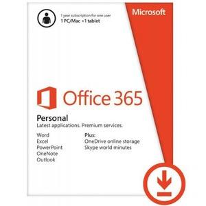 Microsoft Office 365 Персональный, годовая подписка для 1 пользователя (QQ2-00004)