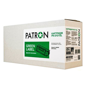PATRON CT-SAM-MLT-D101SPNGL GREEN Label