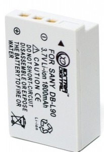 ExtraDigital Sanyo DB-L90 (DV00DV1267)