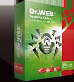 Dr. Web Security Space 10 (2ПК/24 міс)
