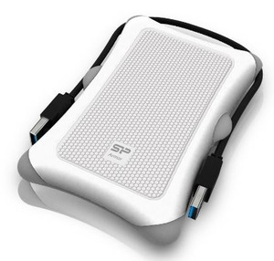 Silicon Power Armor A30 2.5 HDD/SSD USB 3.0 White (SP000HSPHDA30S3W)