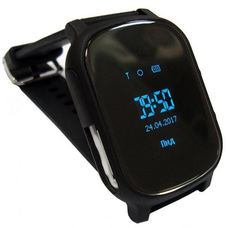 Розумний годинник Смарт-часы GoGPS ME К20 Black (К20ЧР ... 46a5e6034599e
