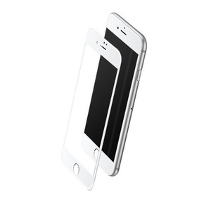 ROCK Full Tempered (2.5D) 0.3 mm Glass Series Apple iPhone 7 Plus Pro White