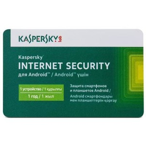 Kaspersky Internet Security for Android Base Card