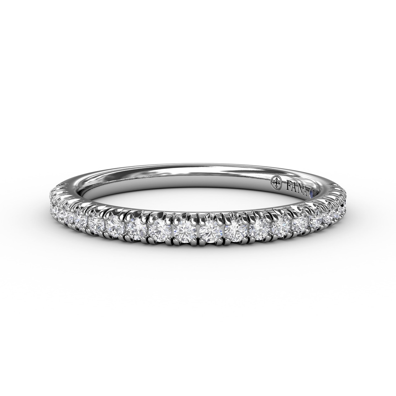Delicate Modern Pave Anniversary Band