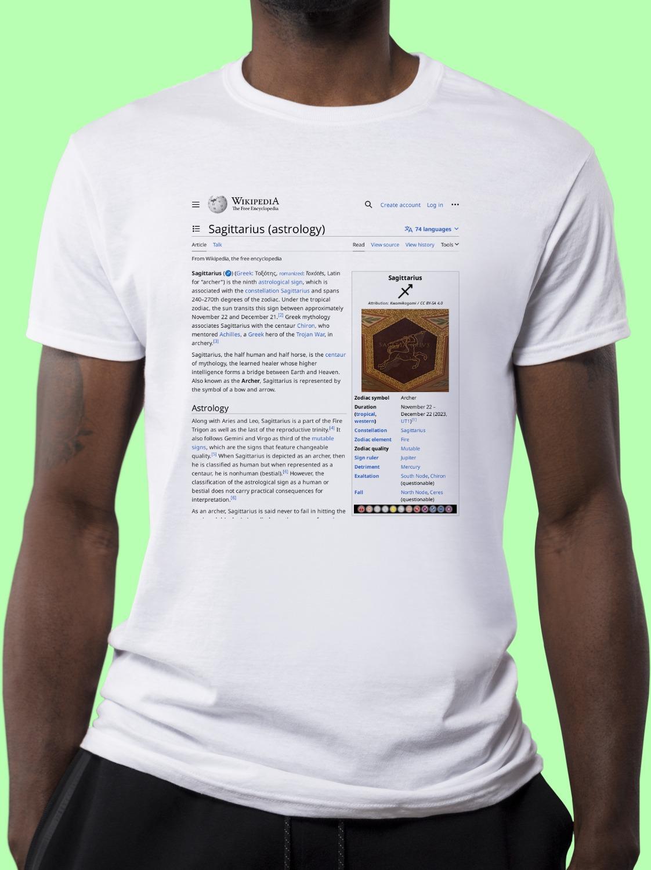 Sagittarius_(astrology) Wikipedia Shirt