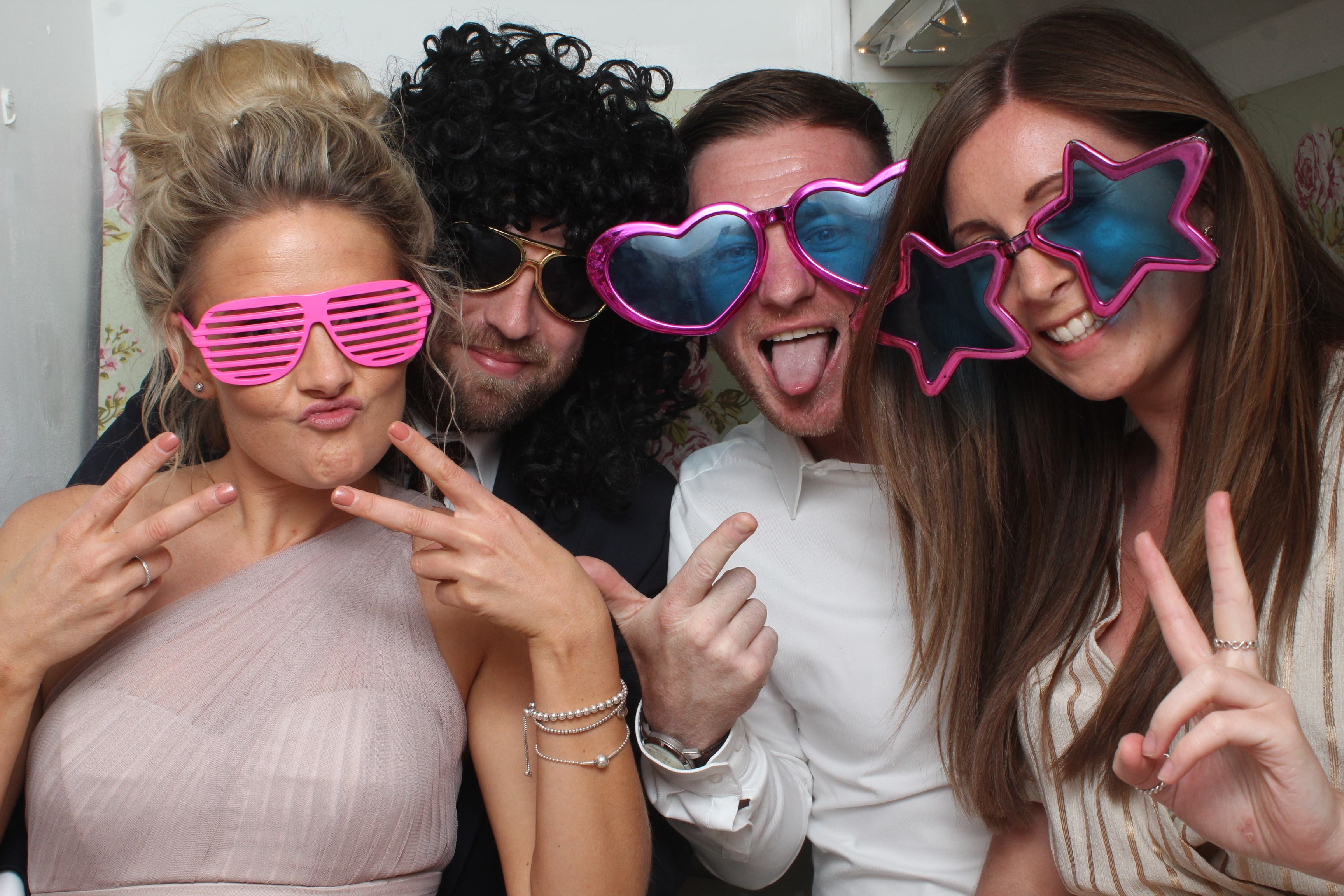 Picture from Ceilidh and Luke's Kent Wedding Photo Booth