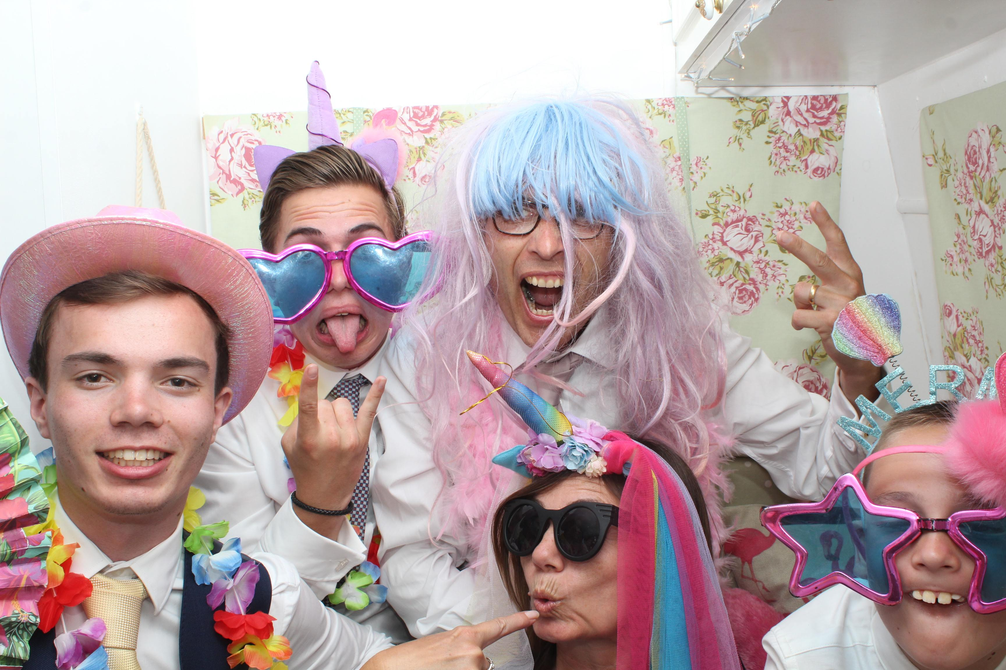 Picture from Coggeshall Vineyard Wedding Photobooth