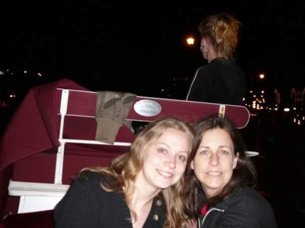 Lauren with her mom, Dixie